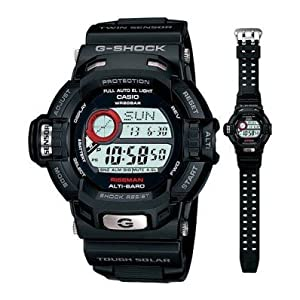 Casio G-Shock Digital Multi-Color Dial Unisex Watch - G-9200-1DR (G242)