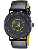 MTV Analog Black and Green Dial Men's Watch - B7018GE