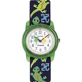【クリックで詳細表示】[タイメックス]TIMEX キッズ腕時計 キッズアナログ エラステックストラップ T72881 キッズサイズ [正規輸入品]