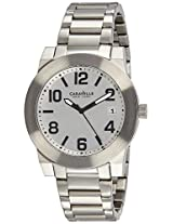Caravelle New York  Analog Silver Dial Men's Watch - 43B142