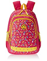 "Genius Nylon Children's Backpack (GT 1502 - 17""-RED)"
