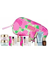 New Estee Lauder Spring 7pc Skincare Makeup Gift Set $120+ Value with Cosmetic Bag Macy's Exclusive
