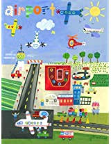 Oopsy Daisy Airport by Jill McDonald Posters That Stick Wall Decal, 28 by 35-Inch