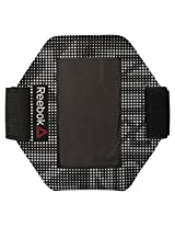 Reebok AJ6750 One Series Polyester Running Armband, Free Size (Black)