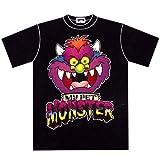 マイペットモンスターtee/MY PET MONSTER T-SHIRTS FACE-BLACK ブラック TシャツS