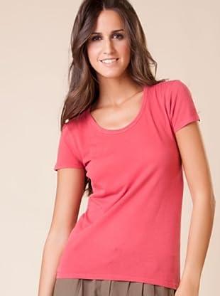 American Vintage Camiseta Texas (Rojo)