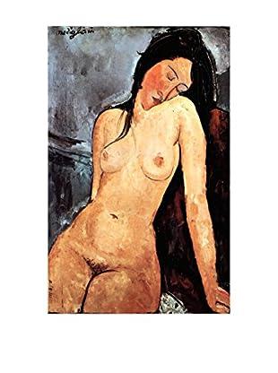 Legendarte Lienzo Nudo Seduto di Amedeo Modigliani