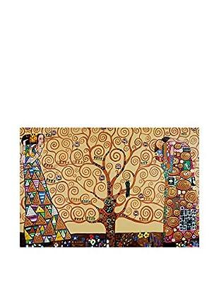 Arte Dal Mondo Pintura al Óleo sobre Lienzo Klimt L'Albero Delle Vita