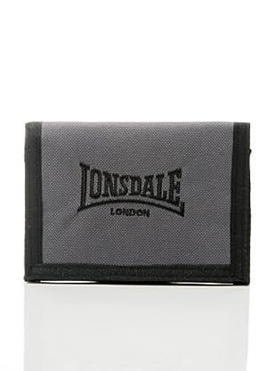 Lonsdale Portafoglio Bedford (Grigio/Nero)