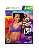 Majesco O1805 Zumba Fitness World Party Fitness Game DVD-ROM Xbox 360
