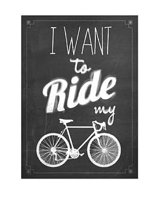 Lienzos Decoración Vertical Ride My Bike