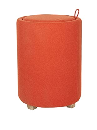 Safavieh Jeannie End Table, Burnt Orange