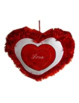 Tickles Cute Love Heart Stuffed Soft Plush Cushion Valentine 25 cm