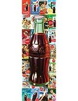 Coca Cola Bottle Collage 1000-Piece Slim Jigsaw Puzzle