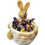 Set of 2 Bunny Basket, brown