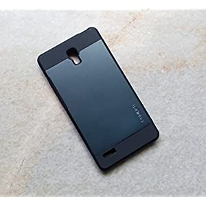 Xiaomi Matte Finish Hard Case For Xiaomi Redmi Note (Grey)