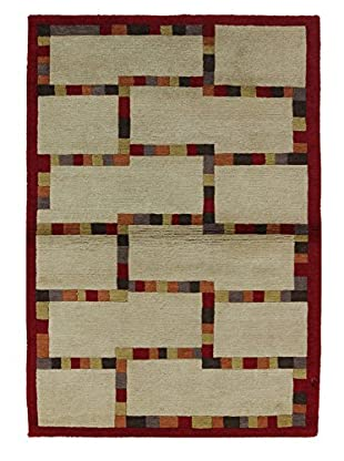 Bashian Rugs Hand Knotted One-of-a-Kind Tibetan Rug, Multi, 3' 9