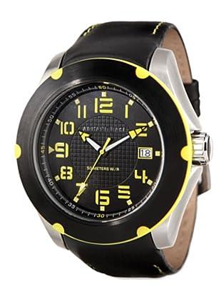 Armand Basi A-0811G-02 Reloj Hoop negro / amarillo