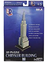 Daron Chrysler Building 3D Puzzle, 70-Pieces