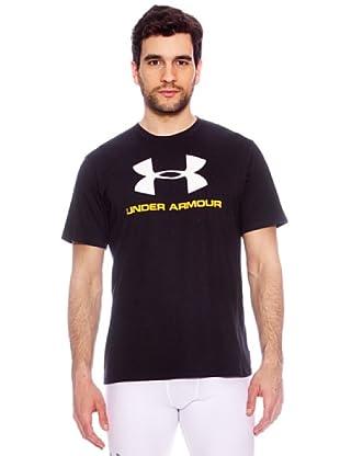 Under Armour Camiseta Wordmark (Negro)