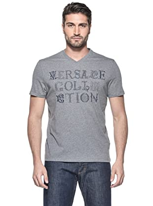 Versace Collection Camiseta Gaulterio (Gris)