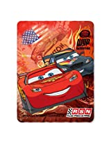 Disney Cars Blanket Fleece Throw Lightning Mcqueen 45 x60
