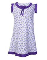 SAPS - Floral Print Nighty With Frill