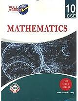 Full Marks ICSE MathematICS