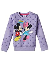 Disney Girl's Minnie Sweatshirt