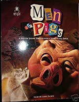 Men Are Pigs by Larry Zacher 1000 Pcs bePuzzled Mystery Jigsaw Puzzle by University Games