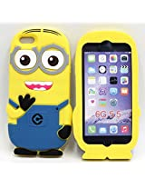 AE Go Crazzy Despicable Me Minion Back Case For Apple iPhone 6/6S