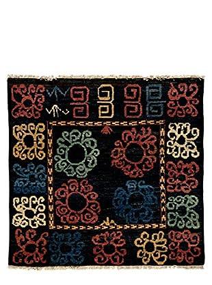 Darya Rugs Kaitag Oriental Rug, Black, 4' 10