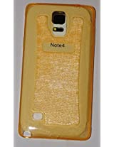 Fortune Glitter TPU For Samsung Galaxy S3 Gold Transparent Color by Fortune [Limited Offer ]