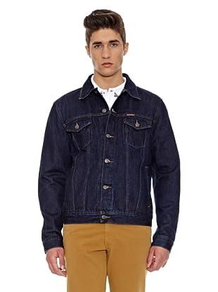 Carrera Jeans Cazadora Giubbino Western (Azul Oscuro)