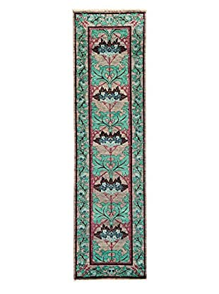Darya Rugs Arts & Crafts Handmade Rug, Walnut, 2' 7