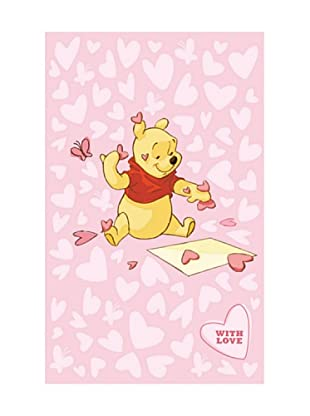 ABC Tappeti Alfombra Disney Comfort Line (Winnie Rosa)