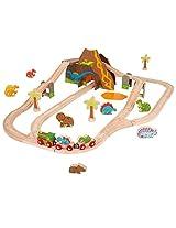 Bigjigs Toys Rail Dinosaur Train Set