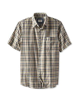 Dockers Men's Woven Shirt (Cloud Cream)