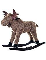 Happy Trails Max Moose Plush Rocking Ride-On