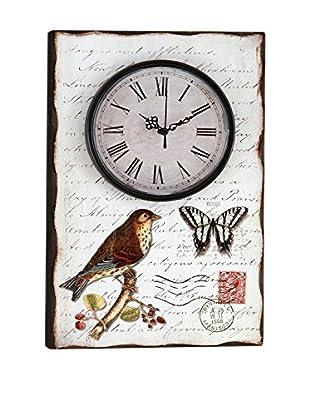 Deko Market Reloj De Pared Bird