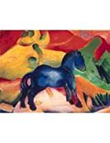 Marc The Little Blue Horse Jigsaw Puzzle 1500pc By Ravensburger