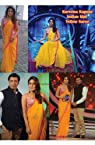 Kareena Kapoor in Orange Saree at Indian Idol B-128
