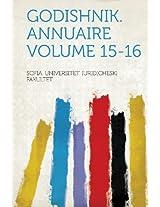 Godishnik. Annuaire Volume 15-16