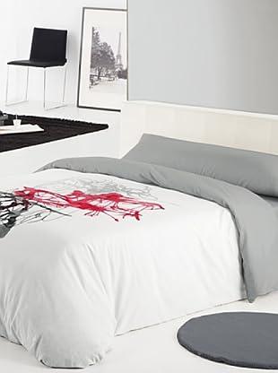 Reig marti es compras moda for Funda nordica blanca y gris