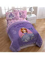 Sofia the First 'Ready to be a Princess' Twin / Full Size Comforter