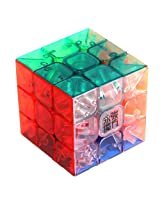 Moyu 1 X 3X3X3 Yj Yulong Transparent Color Stickerless Cube Puzzle Moyu 3X3
