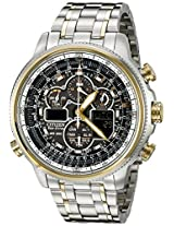 Citizen Men's JY8034-58E Navihawk Two-Tone Stainless Steel Eco-Drive Watch