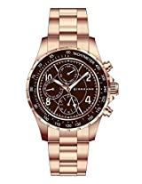 Giordano Analog Brown Dial Men's Watch - A1004-55