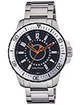 Nautica Analog Black Dial Men's Watch - NTA17634G