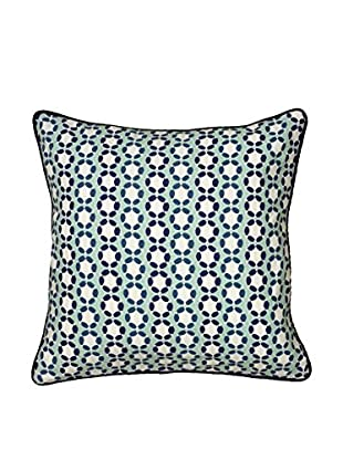 Rizzy Home Navy Tiffany Throw Pillow